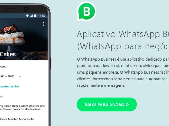 WhatsApp Business é lançado oficialmente e deve chegar ao Brasil nas próximas semanas